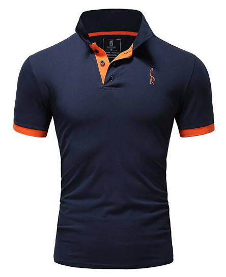 New Mens Polo Shirt T-Shirt Top Short Sleeve Contrast Colours S M L XL PL05